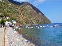 Filicudi beach