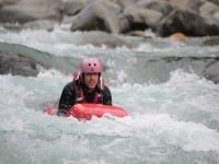 Hydrospeed in the stream