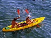 canoa in coppia