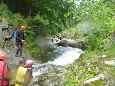 River Action Canyoning