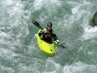 Kayaking in the creek
