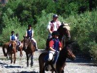 On horseback in the verbano