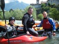 Adrenalina col kayak