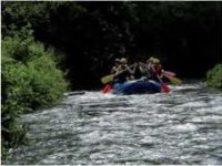 Rafting sul Fiume