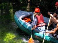 Rafting nei sibillini