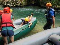 Partenza raft