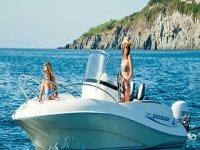 In barca per le vacanze