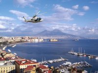 Helicopter over Naples