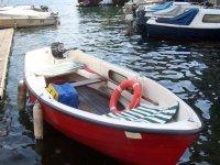 Rowing on Lake Como