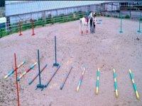 Campo esercizi equestri