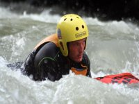 Nell'acqua del fiume Noce
