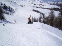 Snowboard e adrenalina