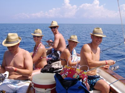 Boat and fishing excursion in Pizzo of 4 hours