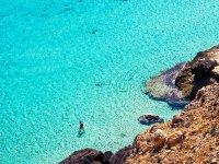 Le limpide acque di Lampedusa