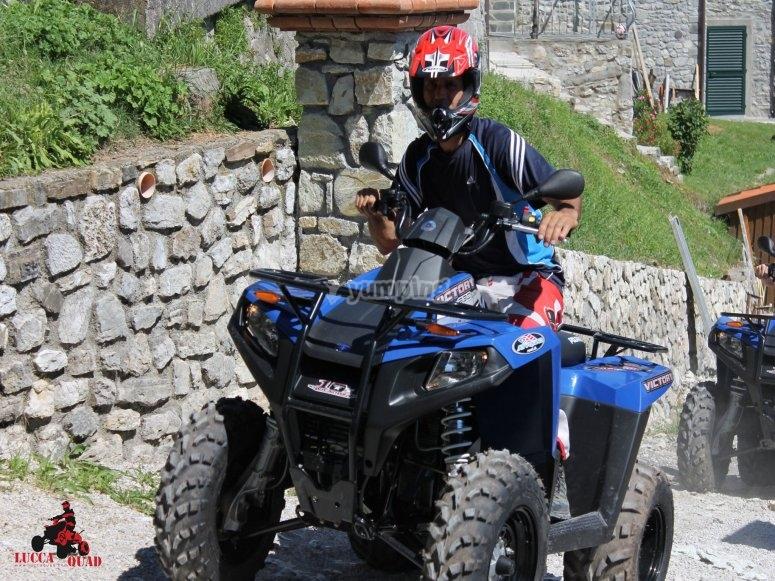 Quad in  Toscana