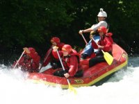 Rafting con guide