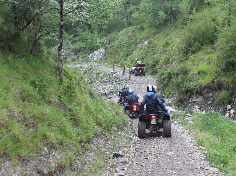 Escursioni in quad Toscana