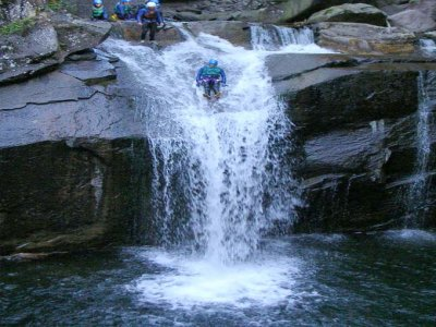 Guide Alpine Val di Fiemme Canyoning