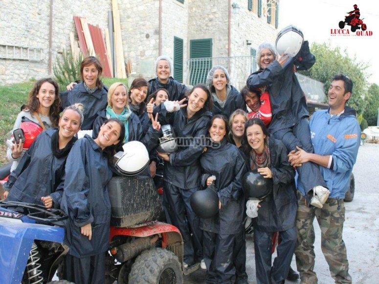 Addio Nubilato con Lucca Quad