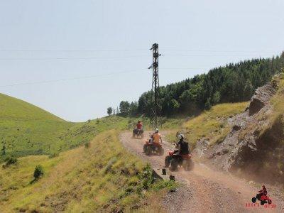 Escursione quad canyon Orrido di Botri 5 ore