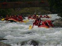 Rafting on Walnut