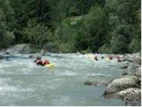 Hydrospeed between the Rapids