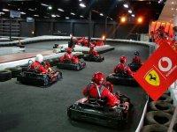 Affronta i tuoi amici in una corsa a go kart!