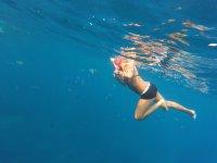 Un tuffo nel mar