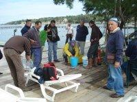 incontro tra pescatori della domenica