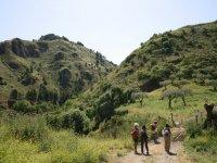 trekking along the beautiful Sicilian paths