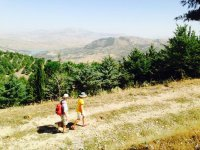 Trekking around the Sicani Mountains