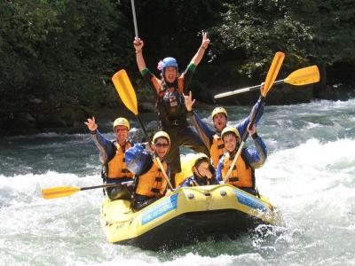 Rafting per tutta la famiglia 2h e 15 in Trentino