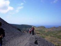 Trekking sul vulcano