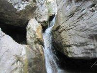 Water between the rocks
