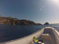 Diving Taormina