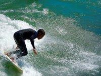 Among the waves