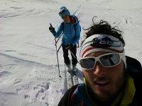 Selfie nella neve