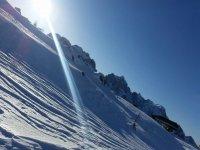 Una giornata di sole in montagna