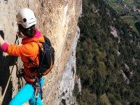 L'emozione dell'arrampicata