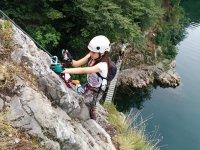 L'arrampicata su roccia