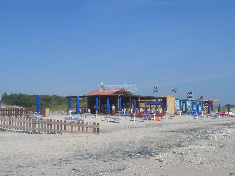 Divertirsi in spiaggia