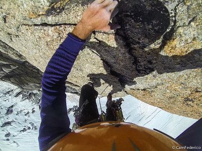 Guida Alpina Federico Camangi Arrampicata