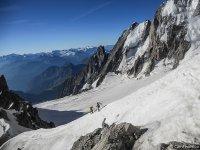 cache cache Monte Bianco