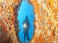Diving protected area Capo Carbonara