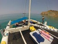 SHAKA, il nostro 13 metri di catamarano