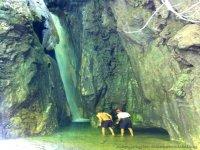 Inaccessible waterfall