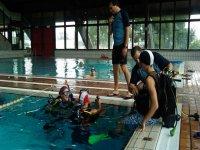 esercitazioni in piscina