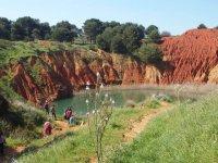 trekking verso le cave di bauxite