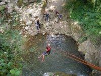 canyoning san fele