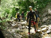 canyoning Raganello